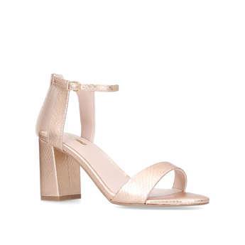 Carvela Gigi - Rose Gold Mid Heel