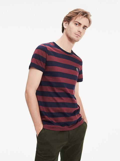 Camiseta Con Estampado De Rayas de Tommy Hilfiger en 21 Buttons