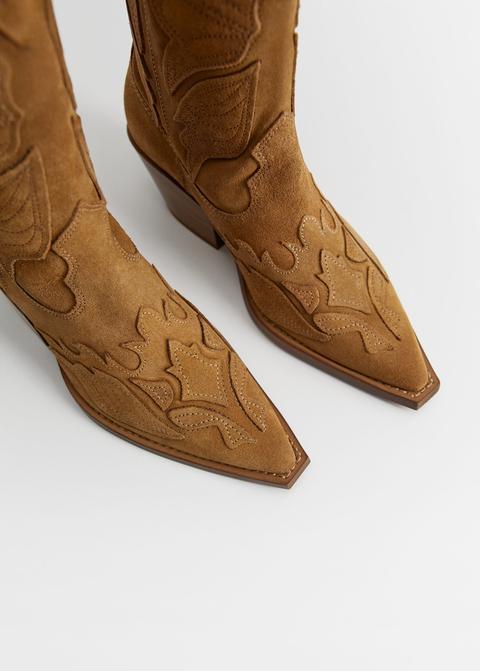Bota Piel Cowboy