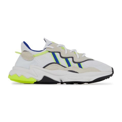Ozweego Adidas Originals Blanc/bleu/jaune 39 1/3 Female from Courir on 21  Buttons