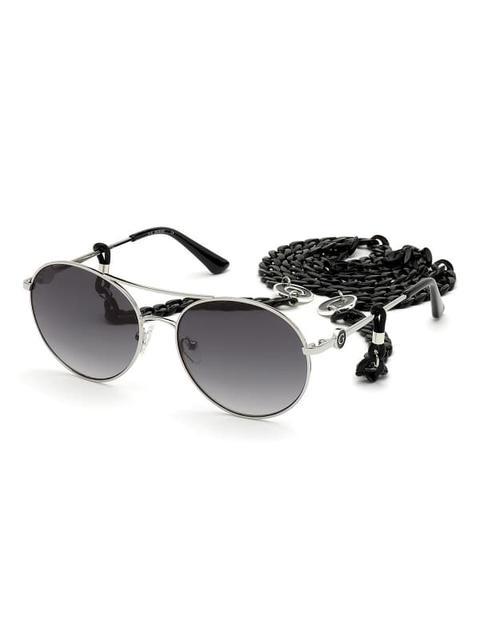Gafas De Sol Modelo Redondo de Guess en 21 Buttons