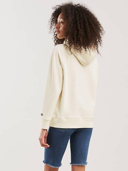 Graphic Sport Hoodie Blanco / Sportswear Hoodie Marshmallow