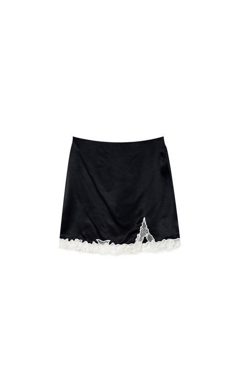 Falda Mini Satén