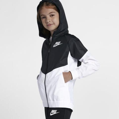 Nike Sportswear Windrunner Jacke Für Ältere Kinder (mädchen) Schwarz from Nike on 21 Buttons