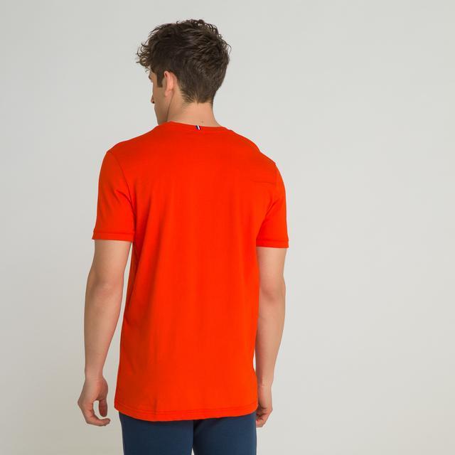 28fcc22d0d T-shirt Col Rond Unisexe Lacoste Live En Coton Avec Lettrage from Lacoste  on 21 Buttons