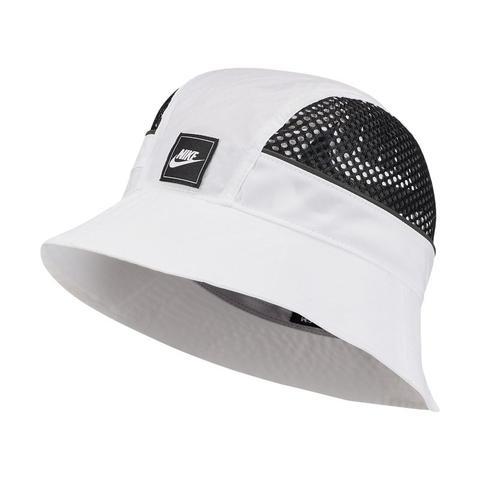 precios baratass fotos nuevas adecuado para hombres/mujeres Nike Sportswear Mesh Sombrero Tipo Pescador - Blanco from Nike ...