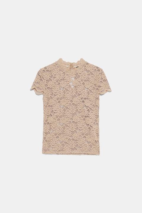 Camiseta Encaje