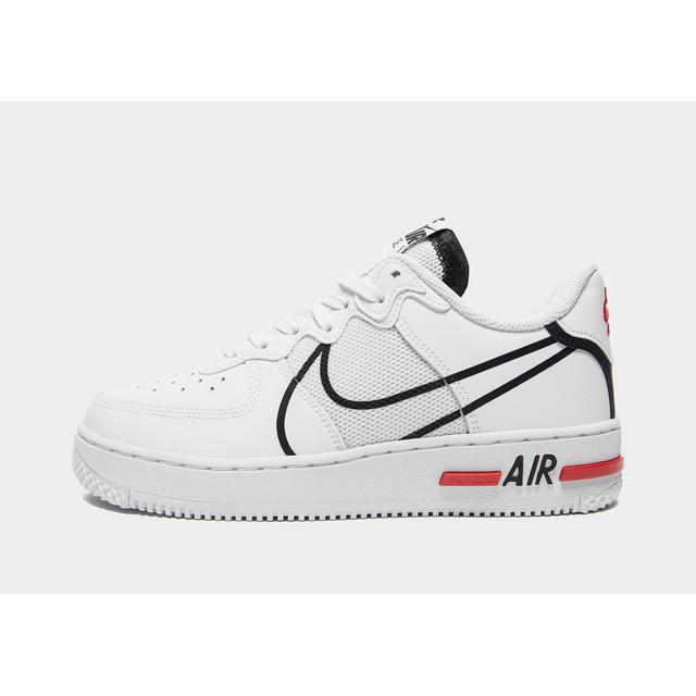 Nike Baskets Air Force 1 React Enfant - Blanc, Blanc from Jd Sports ...