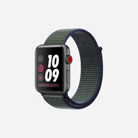 Apple Watch Nike+ Series 3 (gps + Cellular) 42mm Running Watch - Grey