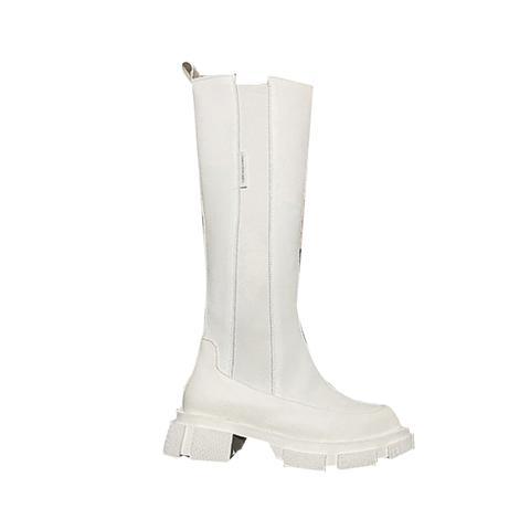 Rioka Basic Leather Knee High Boots