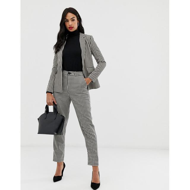 Violino grotta Nylon  Fashion Union - Pantalon Slim À Motif Pied-de-poule (ensemble ...