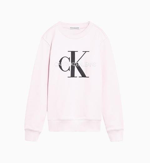 Sudadera Unisex De Algodón Orgánico Con Logo de Calvin Klein en 21 Buttons