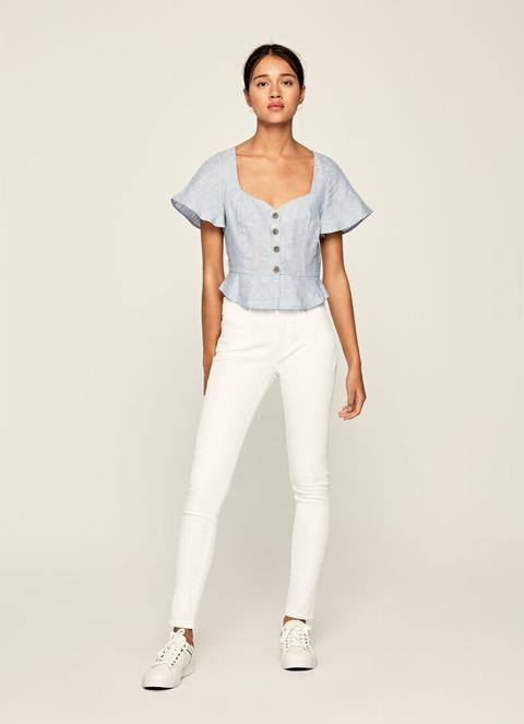 Regent Skinny Fit High Waist Jeans