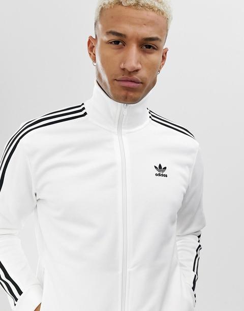 Adidas Originals - Beckenbauer - Giacca Sportiva Bianca - Bianco