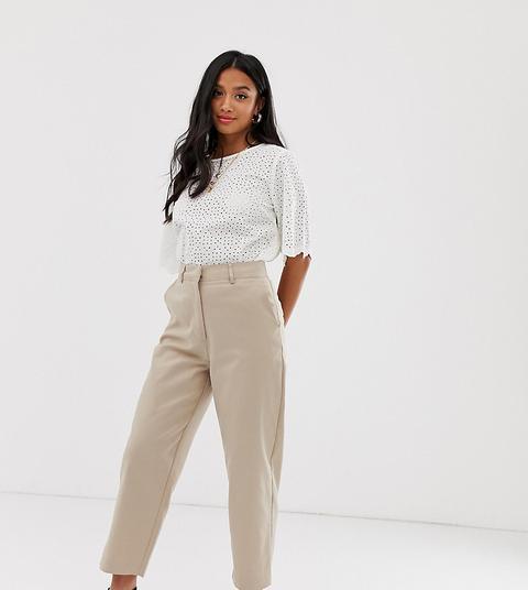 Pantalones Beis De Sastre De Y.a.s Petite de ASOS en 21 Buttons