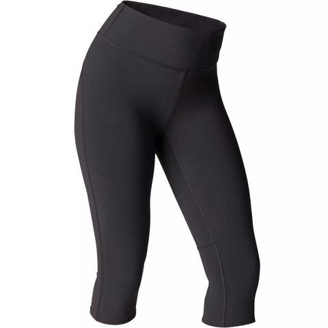 900 Yoga Domyos Deportivos Mallas Leggings Negro Slim Mujer Piratas PkOZTiuX