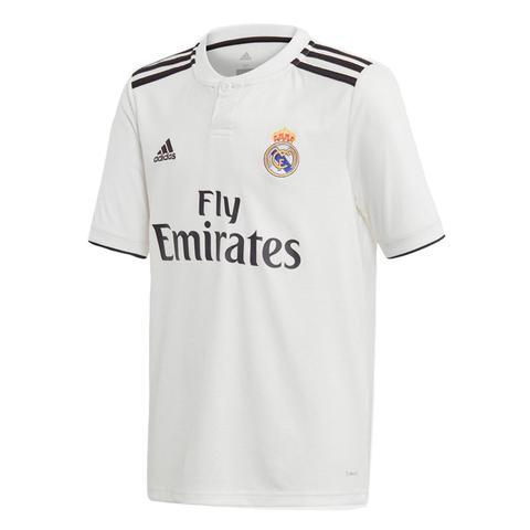 Camiseta De Fútbol Oficial Real Madrid C.f. 1ª Equipación Hombre 2018/2019