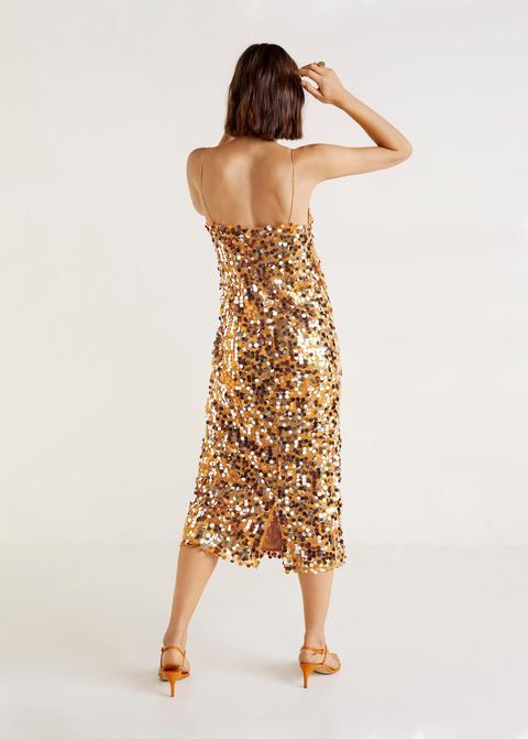 Vestido Midi Lentejuelas
