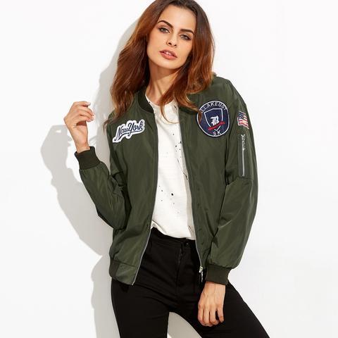 sale retailer e674e cf547 fashion cerniere in ecopelle e toppe giacca con ...