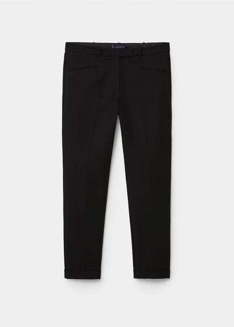 Pantalón Traje Algodón