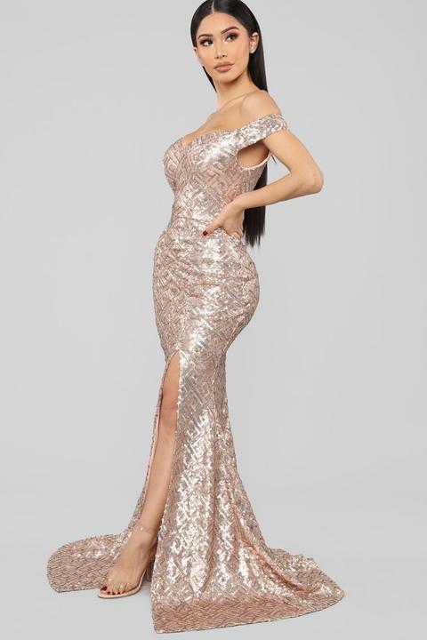 sequin maxi dress