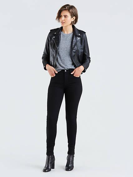 721™ High Waisted Skinny Jeans Negro / Black Sheep de Levi's en 21 Buttons