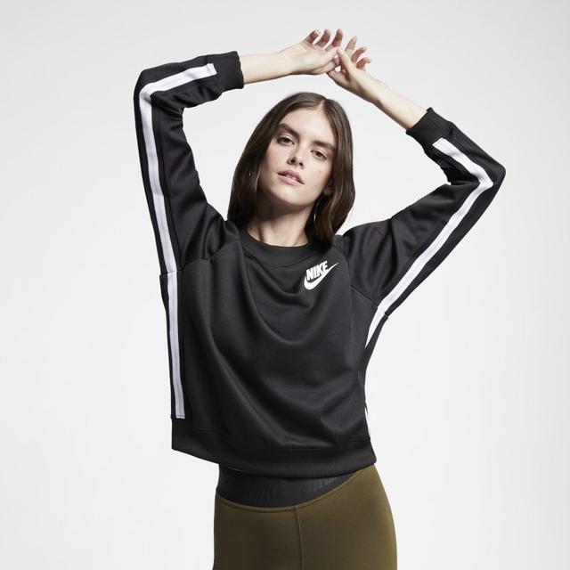 Maglia A Girocollo Nike Sportswear Donna Nero from Nike on 21 Buttons