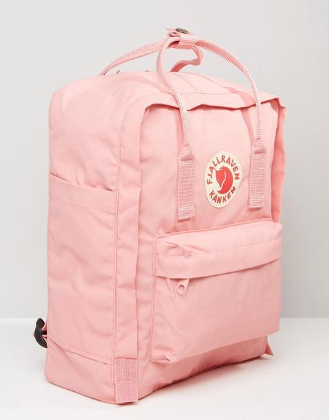 Fjallraven Classic Kanken Backpack In Pastel Pink