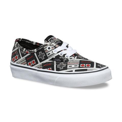 Vans Kids Nintendo Authentic Shoes (4-8