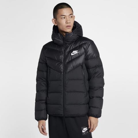 nike hooded down jacket