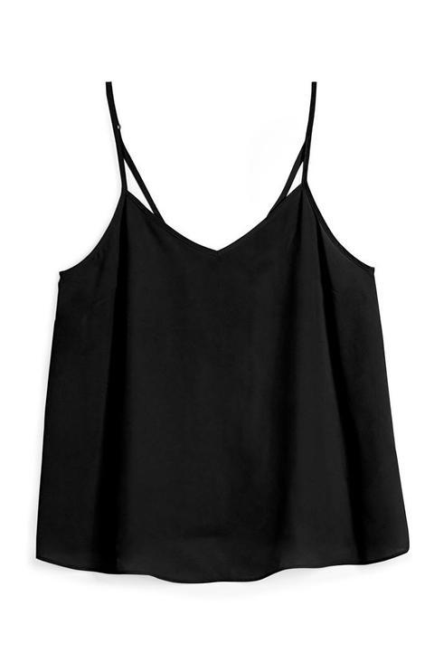 Camiseta De Tirantes Negra