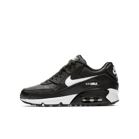 versus explotar Órgano digestivo  Nike Air Max 90 Leather Schuh Für Ältere Kinder - Schwarz from Nike on 21  Buttons