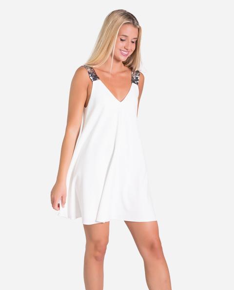 Tank Dress · Blanco