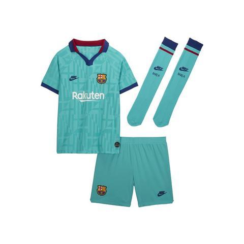 Fc Barcelona 2019/20 Third Equipación De Fútbol - Niño/a Pequeño/a - Verde de Nike en 21 Buttons