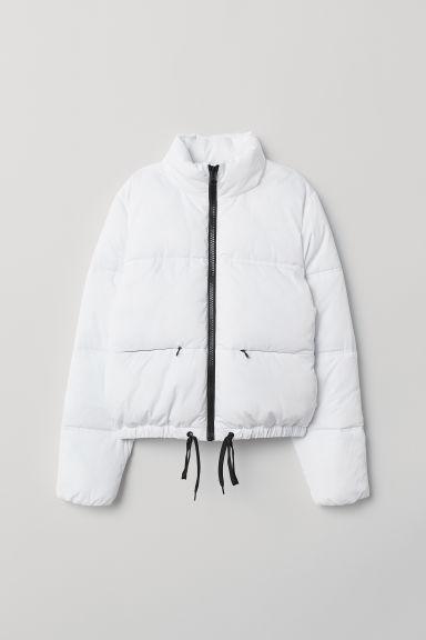 günstiger Preis große Auswahl an Farben und Designs hohes Ansehen Wattierte Jacke - White - Damen from H&M on 21 Buttons