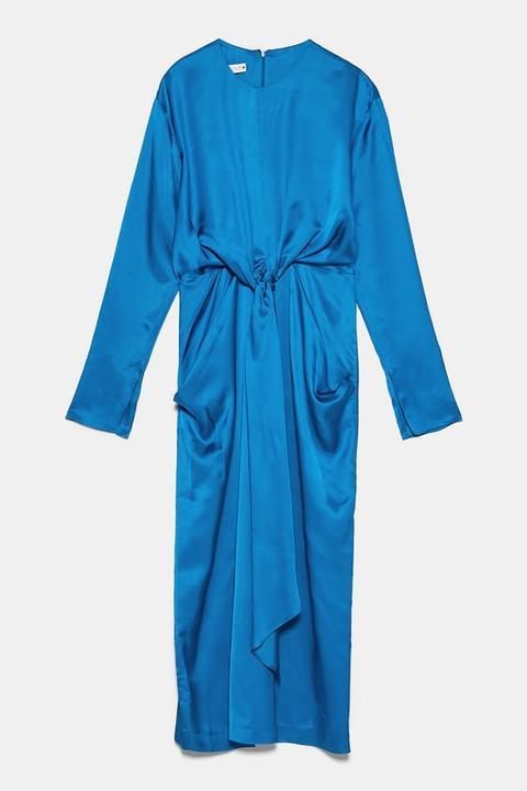 Vestido Lazada de Zara en 21 Buttons