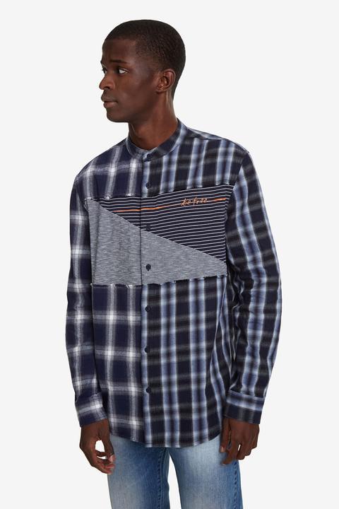 Camisa Cuadros Mao de Desigual en 21 Buttons