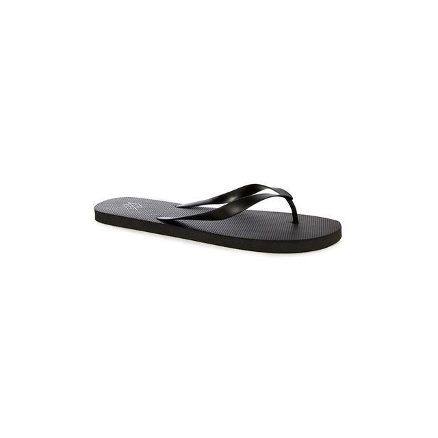 Black Flip Flops from Primark on 21 Buttons