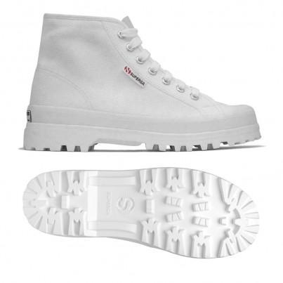 2341-cotu Alpina, 19207, Ankle Boots S00gxg0 901 White de Superga en 21 Buttons