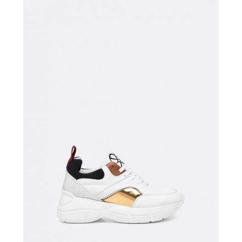 Sneaker Plataforma Blanca de Cuplé en 21 Buttons