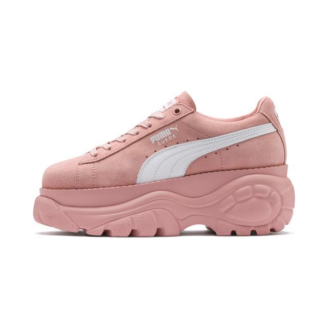 chaussure puma sued rose