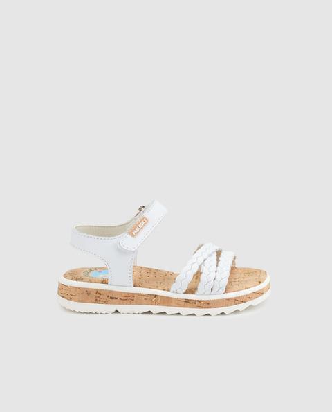 Color De Piel El Blanco Pablosky Buttons Sandalias Niña En 21 Corte Ingles PkXZOiTu