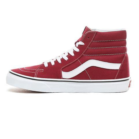 Vans Zapatillas Sk8-hi (rumba Red/true White) Mujer Rojo