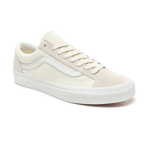 Vans Vintage Sport Style 36 Shoes ((vintage Sport) Classic Whiteblanc De Blanc) Men White from Vans on 21 Buttons