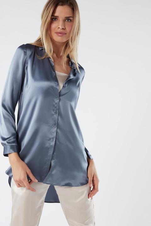 Camisa De Seda de Intimissimi en 21 Buttons