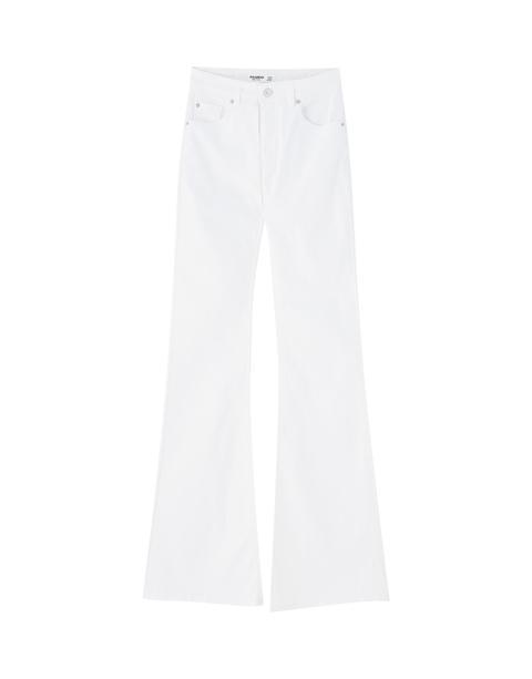 Jeans Campana Blancos