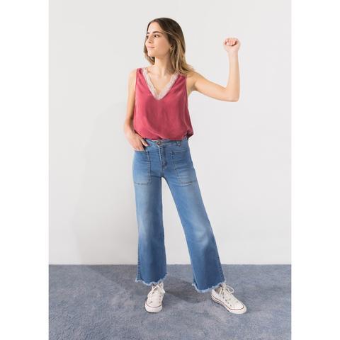 Jeans Culotte Tejano de Noon en 21 Buttons