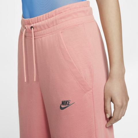 pantaloni nike rosa donna