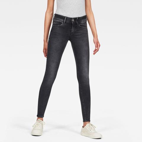 Lynn Mid Super Skinny Jeans de G-STAR en 21 Buttons