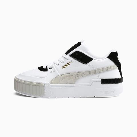Zapatillas Para Mujer Cali Sport Mix, Blanco/negro, Talla 35,5 | Puma Mujeres de Puma en 21 Buttons